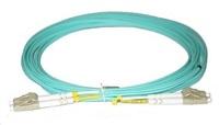 Duplexní patch kabel MM 50/125, OM3, LC-LC, LS0H, 5m