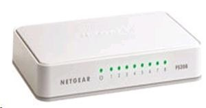 Netgear FS208 Switch 8 portů 10/100