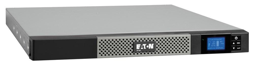 Eaton 5P 850i Rack1U, UPS 850VA, 4 zásuvky IEC, LCD