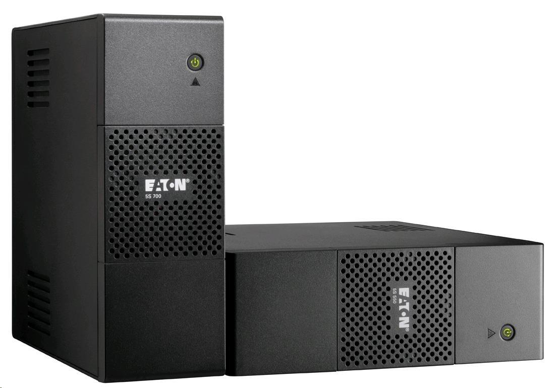 Eaton 5S 700i, UPS 700VA, 6 zásuvek IEC