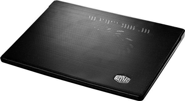 "chladicí podstavec Cooler Master i300 pro NTB 7-17"" black, 16cm blue LED fan"