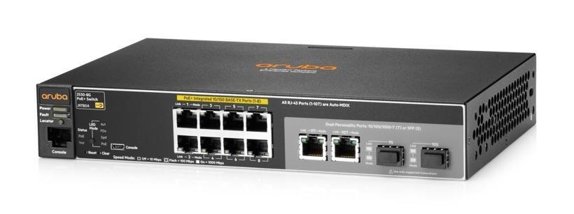 Aruba 2530 8 PoE+ Switch