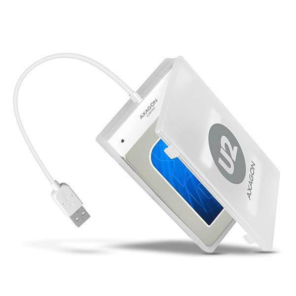 """AXAGON ADSA-1S, USB2.0 - SATA HDD adaptér vr. 2.5"""" púzdra"""