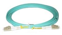 Duplexní patch kabel MM 50/125, OM3, LC-LC, LS0H, 1m