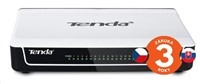 Tenda S16 16-Port Fast Ethernet Switch, 10/100 Mb/s, Desktop