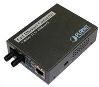 Planet FT-801 multimode ethernet konvertor s přepínačem 10/100BaseTX/FX (ST)