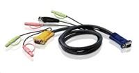 Hama USB 2.0 Hub 1:4, antracit/chróm, napájaný