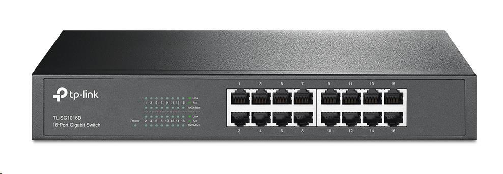 TP-Link TL-SG1016D 16x Gigabit Switch, desktop