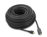 PREMIUMCORD Kabel HDMI 20m High Speed se zesilovačem 3x stíněný