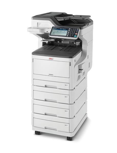 Oki MC853dnv A3 23 ppm ProQ2400DPI, PCL/PS,USB,LAN (Print/Scan/Copy/Fax), 250GB HDD