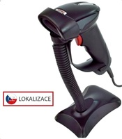 Virtuos laserová čítačka HT-900A, USB (emulácia klávesnice / RS232), čierna