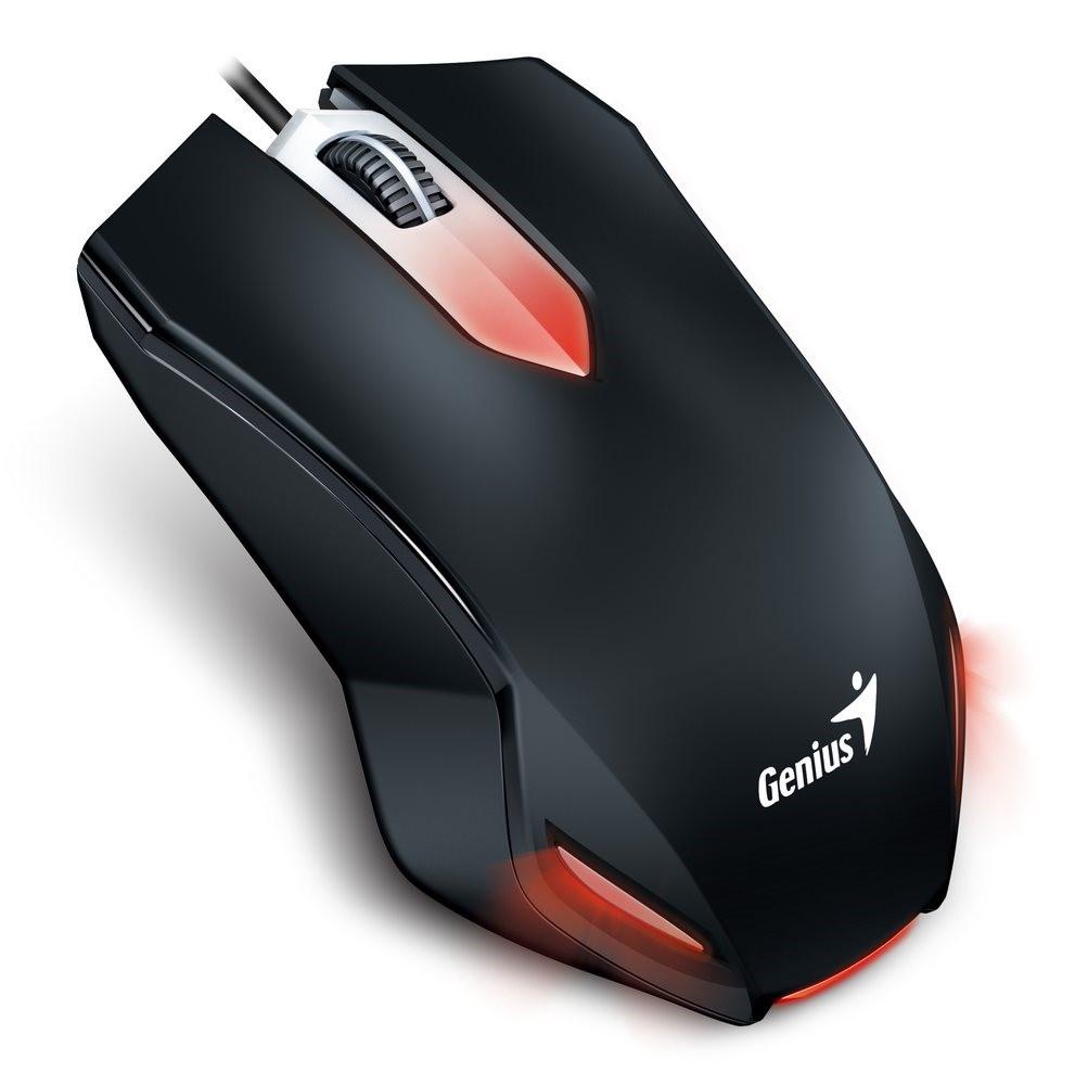 GENIUS myš X-G200 gaming/ drátová/ 1000 dpi/ USB/ černá