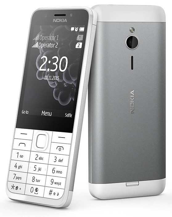 Nokia 230 Dual SIM, Silver