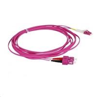 Duplexní patch kabel MM 50/125, OM4, SC-LC, LS0H, 3m