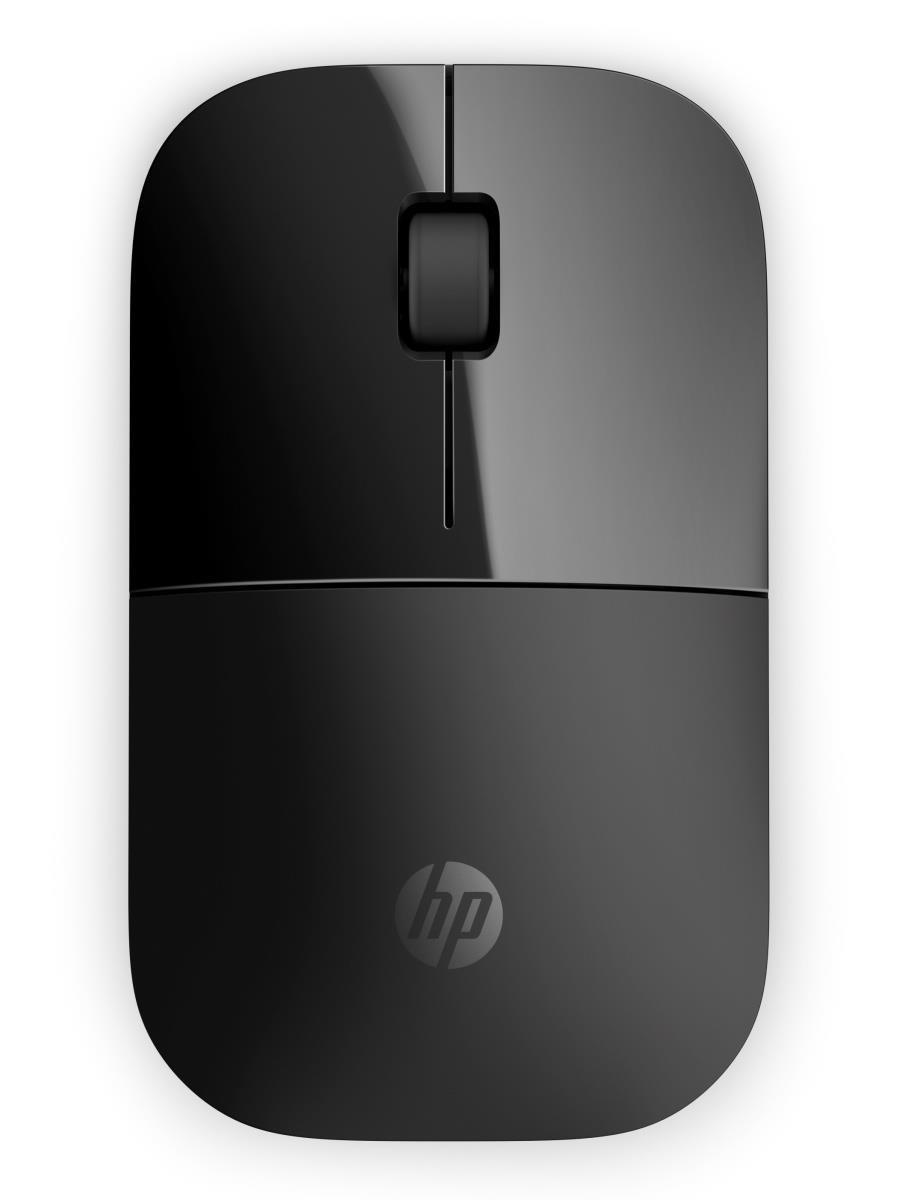 HP Z3700 Wireless Mouse - Black Onyx - MOUSE