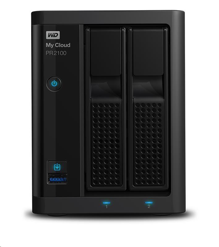 """WD My CLOUD PR 2100, 8 TB (2x4TB) 3,5"""", RJ45, NAS"""