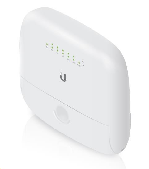 UBNT EdgeMAX EdgePoint 6-port WISP router [880MHz MIPS1004Kc dual-core CPU, 256MB DDR3 RAM, 5xGLAN+1xSFP, PoE]