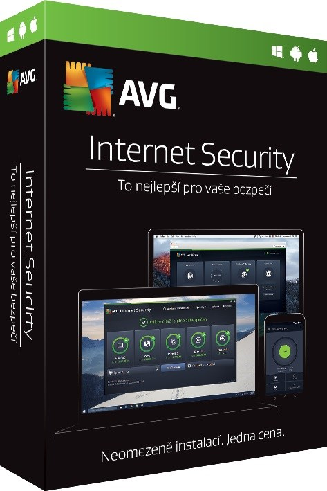 AVG Internet Security - Unlimited (12 měs.) SN Email ESD