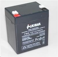 Baterie - FUKAWA FW 5-12 U (12V/5Ah - Faston 250) SLA baterie, životnost 5let