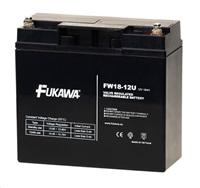 Baterie - FUKAWA FW 18-12 U (12V/18Ah - M5) SLA baterie, životnost 5let