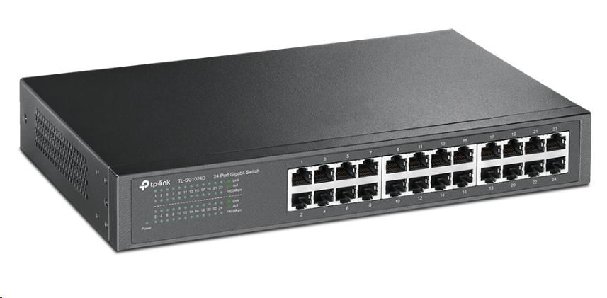 TP-Link TL-SG1024D 24x Gigabit Switch, desktop