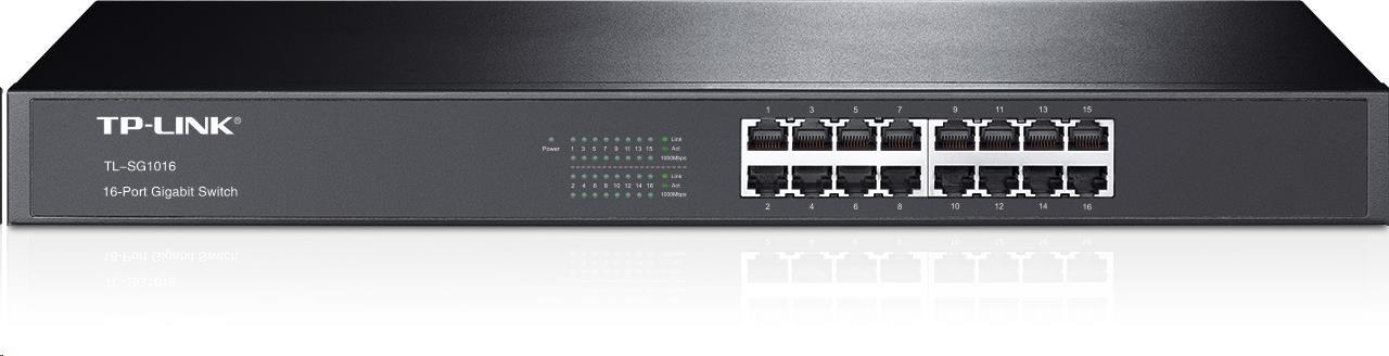TP-Link TL-SG1016 16x Gigabit Switch, kov
