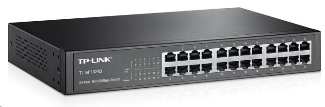 TP-Link TL-SF1024D 24x 10/100Mbps Desktop Switch
