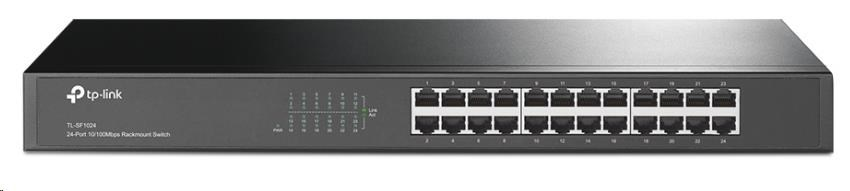 TP-Link TL-SF1024 24x 10/100Mbps rackmount Switch