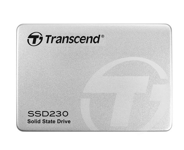 TRANSCEND SSD 230S, 256GB, SATA III 6Gb/s, 3D TLC, Aluminum case