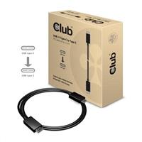 Club3D Kabel USB 3.1 typ C 10Gbps 4K60Hz UHD Power Delivery 100W, (M/M), 80cm