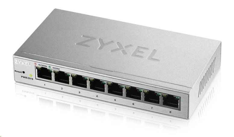 Zyxel GS1200-8 8-port Desktop Gigabit Web Smart switch