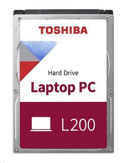 """TOSHIBA HDD L200 1TB, CMR, SATA III, 5400 rpm, 8MB cache, 2,5"""", 9,5mm, BULK"""