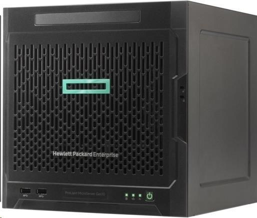 HPE PL MicroServer G10 X3216 (3.0G/2C/1M/12-15W) 1x8G noHDD/DVD 4LFF-NHP 200W UltraMicroTower