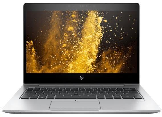 HP EliteBook 830 G5 i7-8550U 13.3 FHD UWVA CAM IR Privacy, 8GB, 512GB TurboG2, ac, BT, WWAN, FpR, backlit keyb, Win10Pro