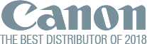 Cannon The best distributor 2018 [logo]